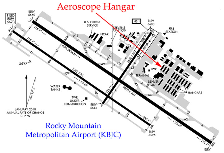 hangar location